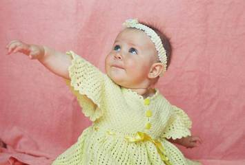 Ik hou van modieuze babykleding